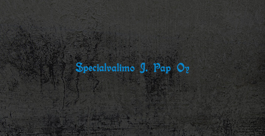 Specialvalimo J. Pap Oy